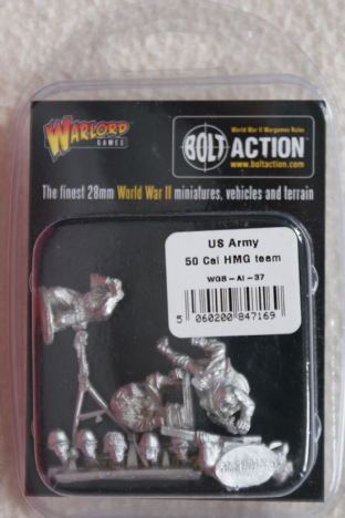 Warlord Games 28mm WGB-AI-37 US Army .50 Cal HMG Team